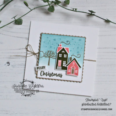 Stampin' Up! – Merry Christmas – Global Design Project #217