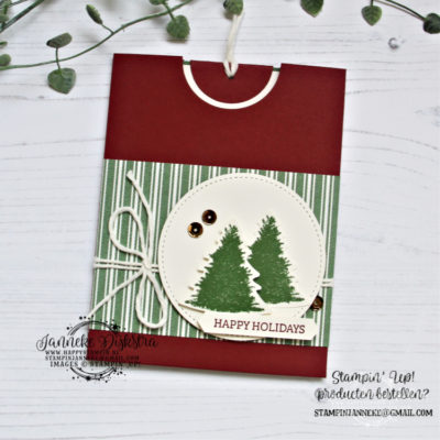 Stampin' Up! – Be Inspired bloghop – Perfectly Plaid