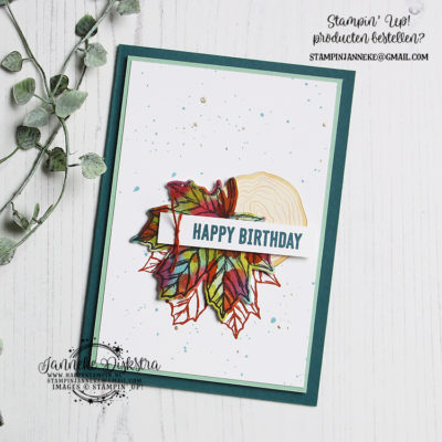 Stampin' Up! – Gather Together – Happy Birthday