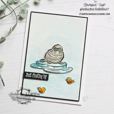 Stampin' Up! – Just floating by – Global Design Project #215
