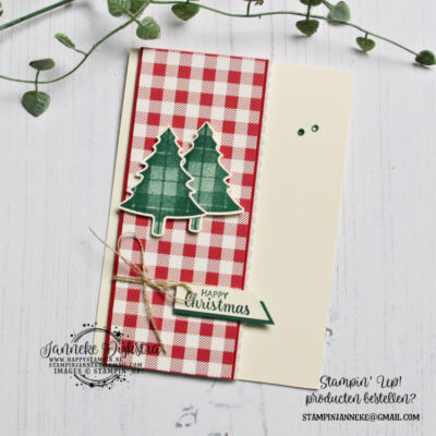 Stampin' Up! – Perfectly Plaid – Global Design Project #219