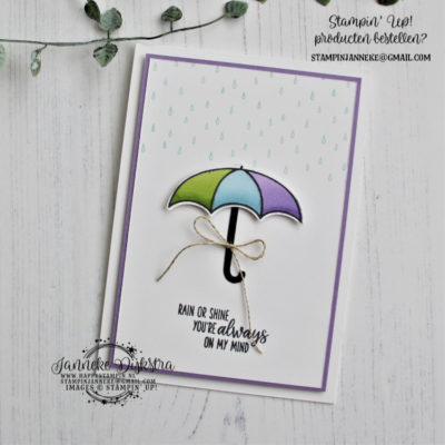 Stampin' Up! – Under my Umbrella – Bloghop