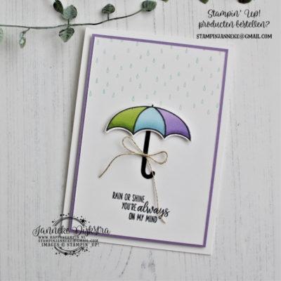 Stampin' Up! – Under my Umbrella – Bloghop
