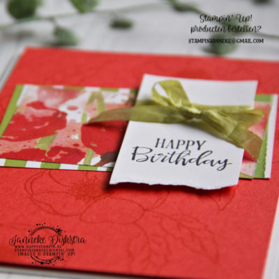Stampin' Up! – Painted Poppies & Sale a Brations starters pakket informatie