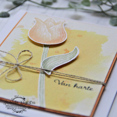 Stampin' Up! – Happy Stars blog hop – Tijdloze Tulpen