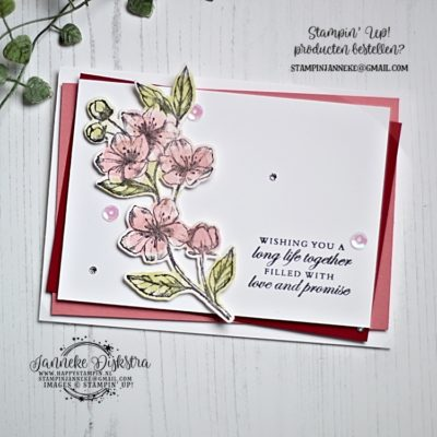 Stampin' Up! – Forever Blossoms – Global Design Project #225