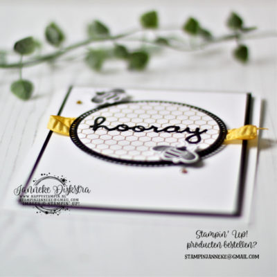 Stampin' Up! – Hooray – NL Demo's bloghop