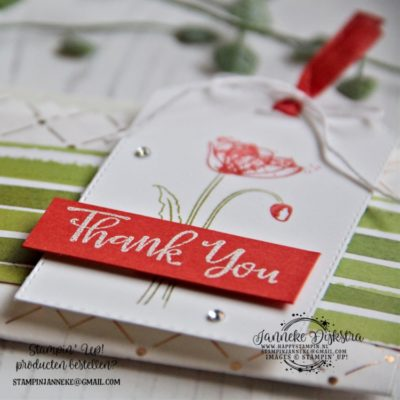 Stampin' Up! – Painted Poppies – Thank you