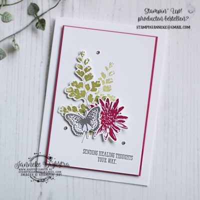 Stampin' Up! – CAS on Friday – Sending healing thoughts …