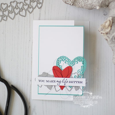 Stampin' Up! – You make my life better – CAS on Friday