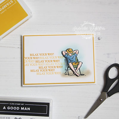 Stampin' Up! – A Good Man – Global Design Project #229