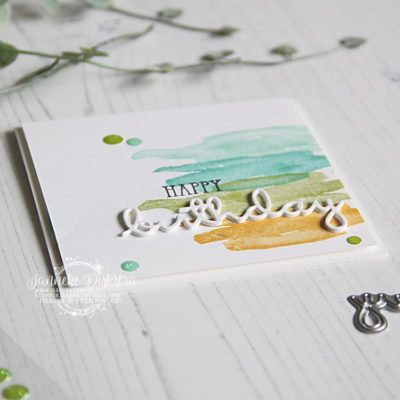 Stampin' Up! – My Meadow – Cas on Friday