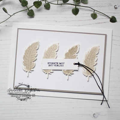 Stampin' Up! – Nature's Thoughts Dies – Global Design Project #226