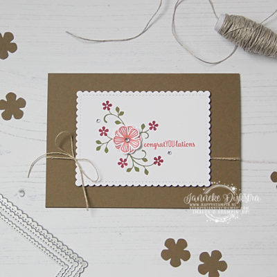 Stampin' Up! – Thoughful Blooms – Global Design Project #227