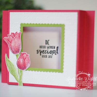 Stampin' Up! – Tijdloze Tulpen – De beste wensen ..