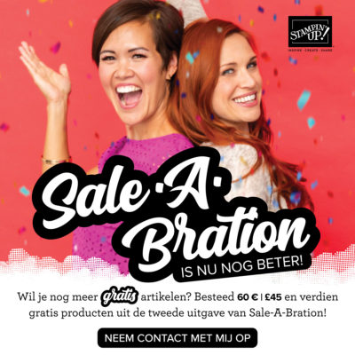 Stampin' Up! – Nieuwe Sale a Bration producten