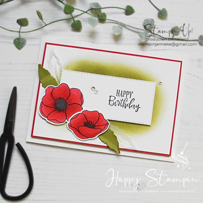 Painted Poppies – Global Design Project #236
