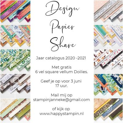 Design Papier Share jaarcatalogus 2020 – 2021