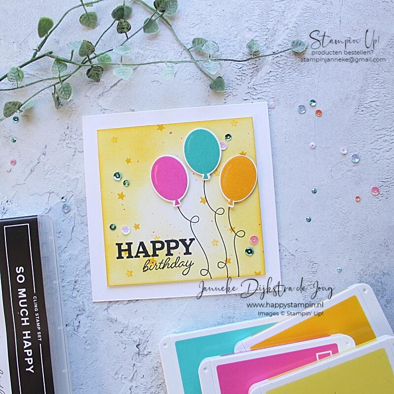 Stampin' Up! - Happy Stampin' – Janneke Dijkstra de Jong - Inspiratie en Verkoop van Stampin' Up!