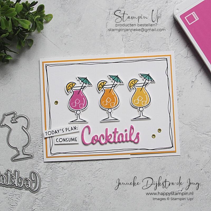 Stampin' Up! - Happy Stampin' – Janneke Dijkstra de Jong - Inspiratie en Verkoop van Stampin' Up! - Cocktails