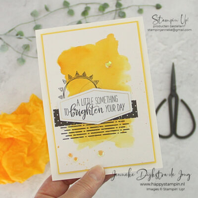 Stampin' Up! - Happy Stampin' – Janneke Dijkstra de Jong - Inspiratie en Verkoop van Stampin' Up! - Box of Sunshine