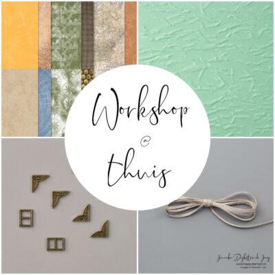 Workshop @ thuis – Mannen