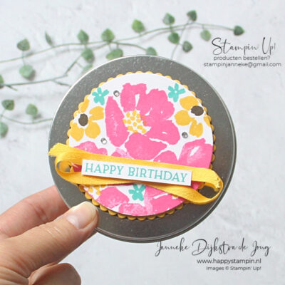 Stampin' Up! - Happy Stampin' – Janneke Dijkstra de Jong - Inspiratie en Verkoop van Stampin' Up! - Party Time