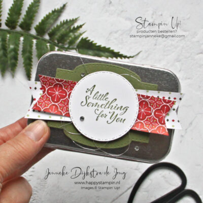 Feel Good Stampin' – A little something