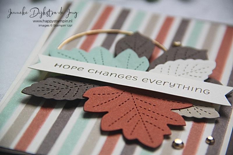 Stampin' Up! - Happy Stampin' - Janneke Dijkstra - Autumn - Love of Leaves