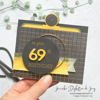 Stampin' Up! - Happy Stampin' - Janneke Dijkstra - Family Party