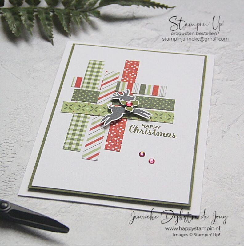 Stampin' Up! - Happy Stampin' – Janneke Dijkstra de Jong - Inspiratie en Verkoop van Stampin' Up! - Merry Christmas