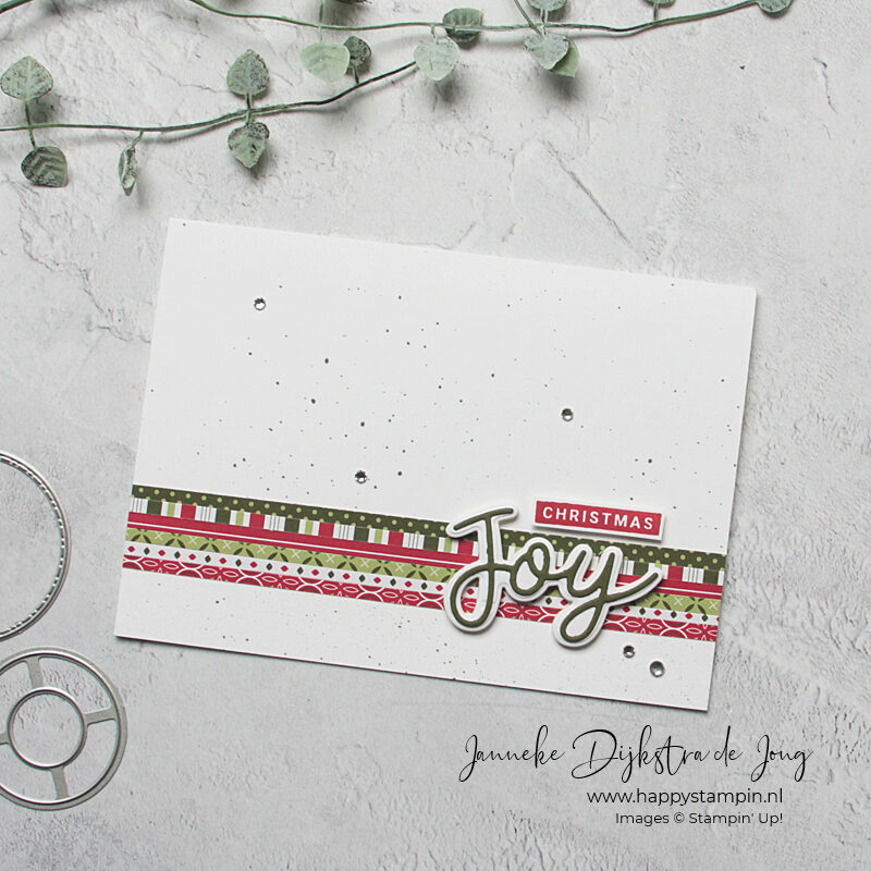 Stampin' Up! - Happy Stampin' - Janneke Dijkstra - Christmas Joy
