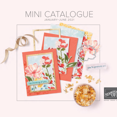 Stampin' Up! – Mini catalogus & Sale a Brations