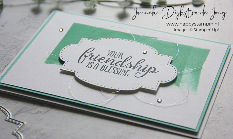 Stampin' Up! - Happy Stampin' - Janneke Dijkstra - So Sentimental