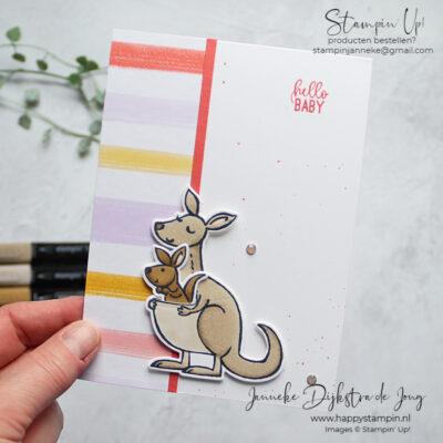 Feel Good Stampin' – Kangaroo & Company