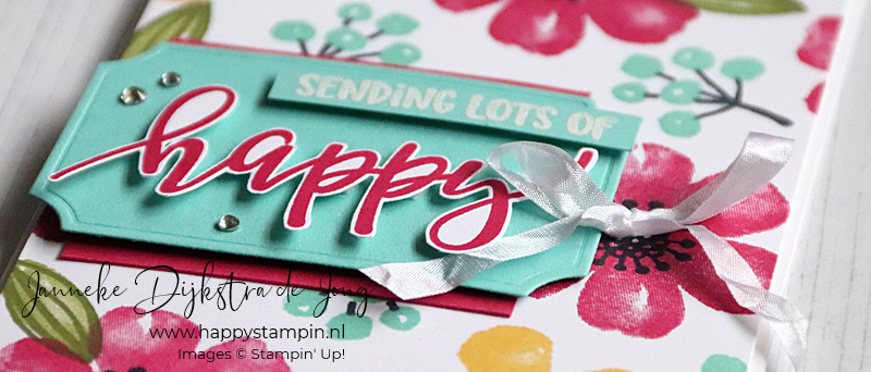 Stampin' Up! - Happy Stampin' - Janneke Dijkstra - Pretty Pennials