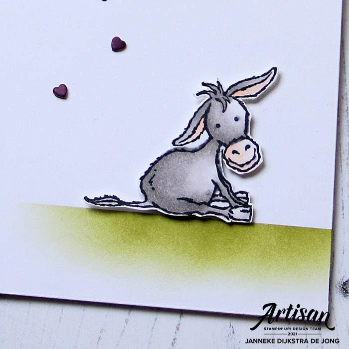 Stampin' Up! - Happy Stampin' - Janneke Dijkstra - Darling Donkeys