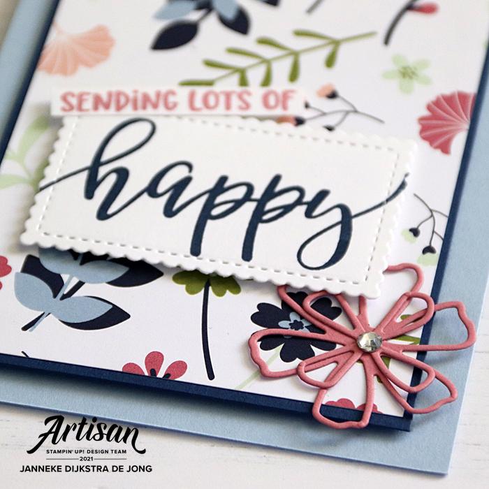Stampin' Up! - Happy Stampin' - Janneke Dijkstra - Paper Blooms