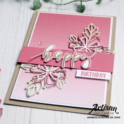 Stampin' Up! - Happy Stampin' - Janneke Dijkstra - Pretty Perennials