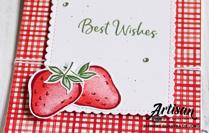 Stampin' Up! - Happy Stampin' - Janneke Dijkstra - Sweet Strawberry