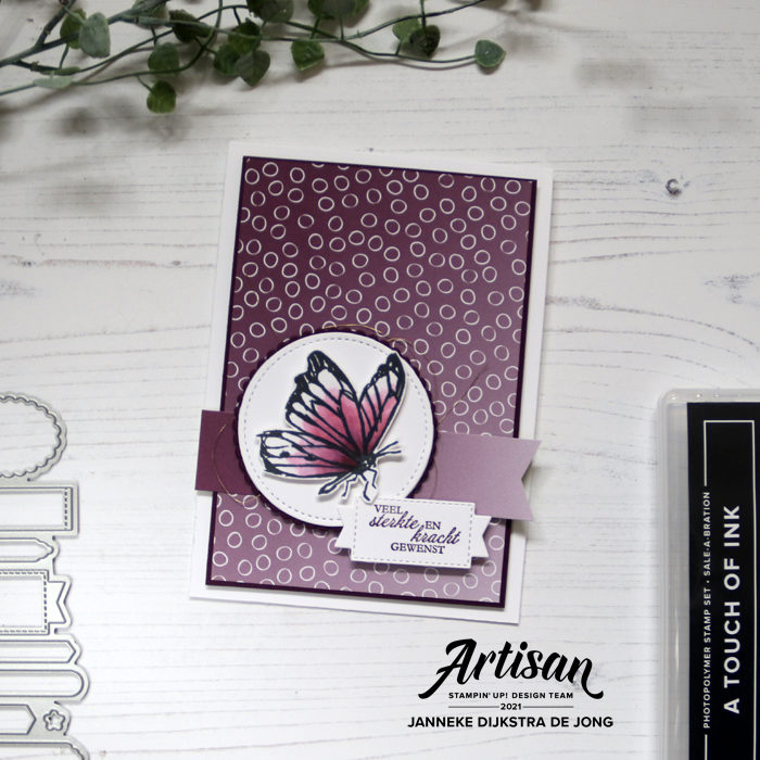 Stampin Up - Happy Stampin - Janneke Dijkstra - A Touch of ink