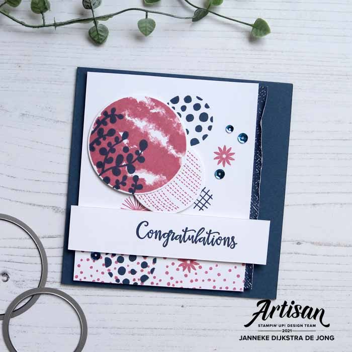 Stampin Up - Happy Stampin - Janneke Dijkstra - Circle Celebration
