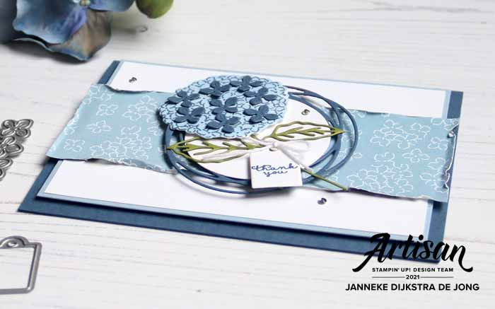 Stampin Up - Happy Stampin - Janneke Dijkstra - Hydrangea Haven