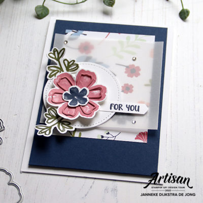 Stampin Up - Happy Stampin - Janneke Dijkstra - Pretty Perrenials