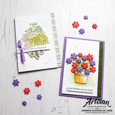Stampin' Up! Artisan Team – Simple Succulents