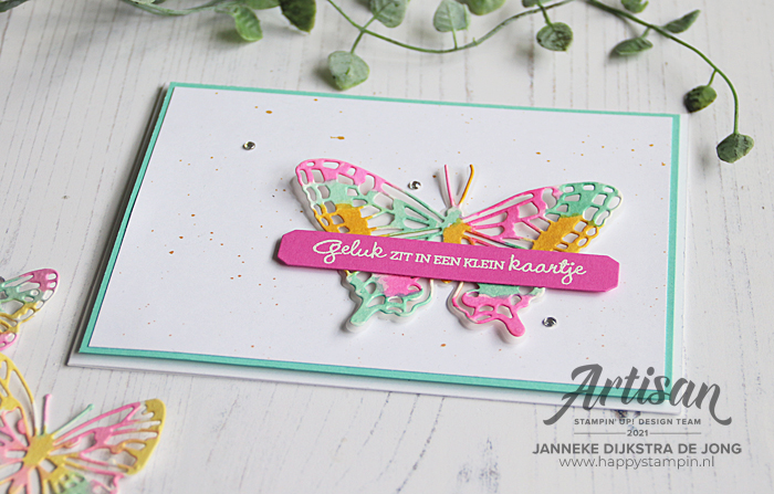 Stampin Up - Happy Stampin - Janneke Dijkstra - Brilliant WIngs