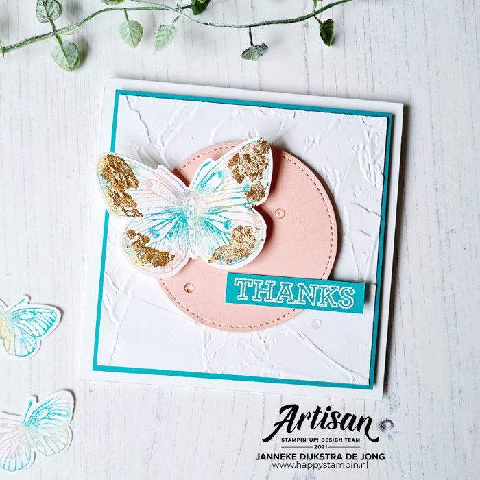 Stampin Up - Happy Stampin - Janneke Dijkstra - Butterfly Brilliance
