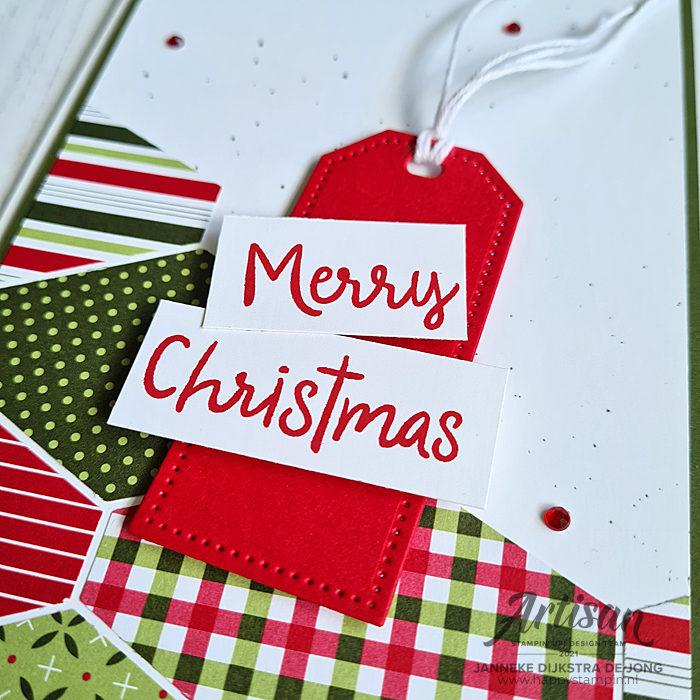 Stampin Up - Happy Stampin - Janneke Dijkstra - Christmas - Snowman Season