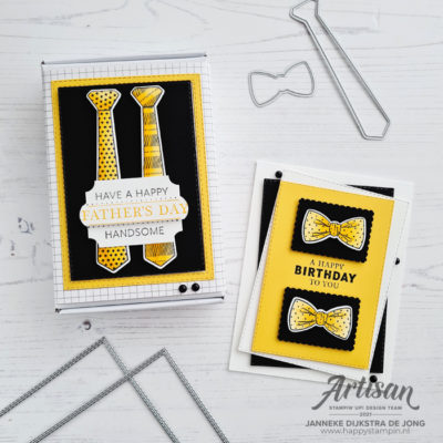 Stampin' Up! Artisan Team – Handsomely Suited