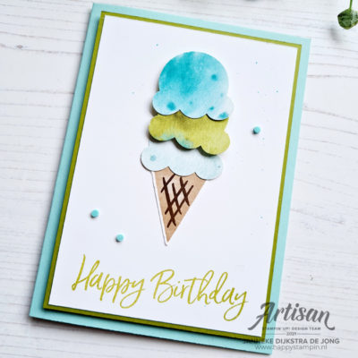 Sweet Ice Cream – Happy Birthday